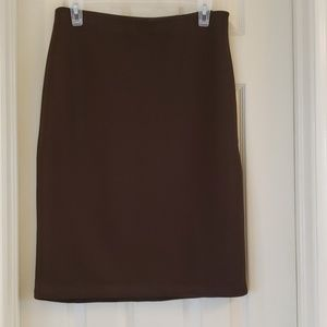 Dark Brown Grace Skirt in size 6